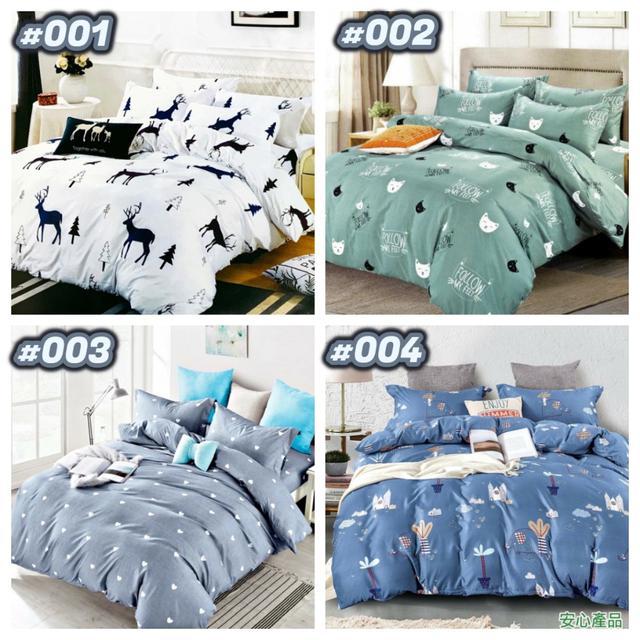 👧台灣製一般床包圖款 (001款-028款)