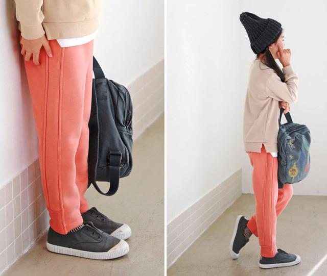 11 加絨基礎蘿蔔褲(5色)4664