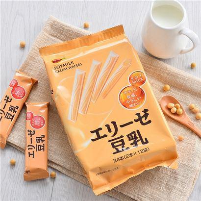 北日本 Bourbon愛麗絲豆乳捲心酥