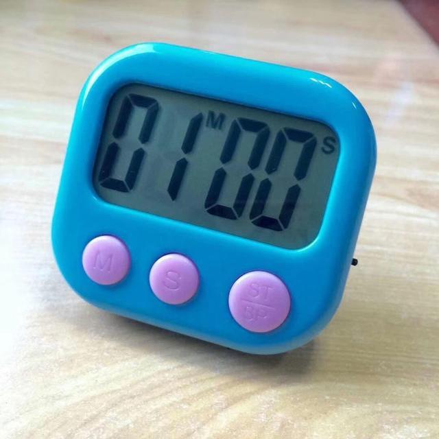 100分鐘 正負倒計時器 大熒幕電子計時器   料理定時器 計時器 廚房定時器 提醒秒錶