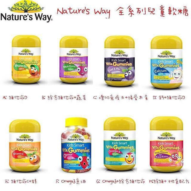Nature's Way 兒童營養軟糖🇦🇺