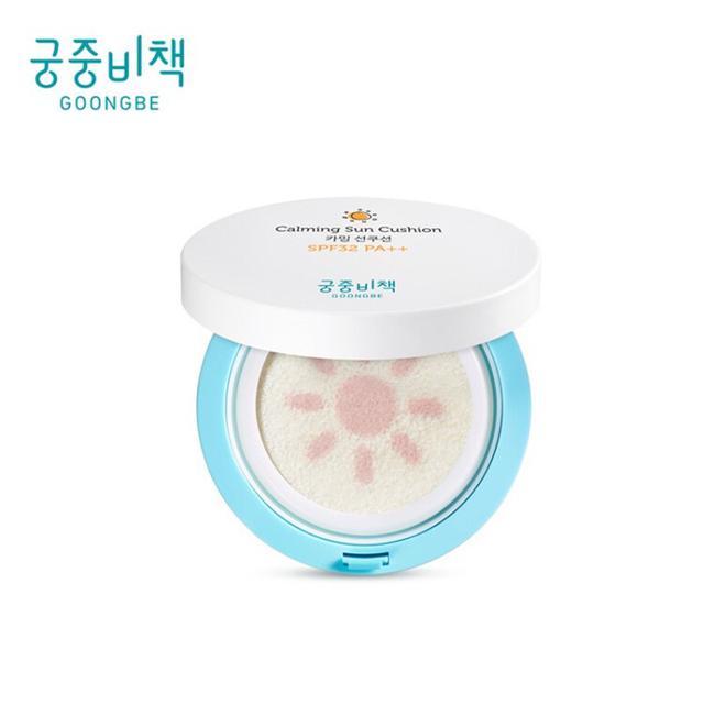 韓國正品GOONGBE 宮中秘策 兒童防曬氣墊 spf32++批發團購