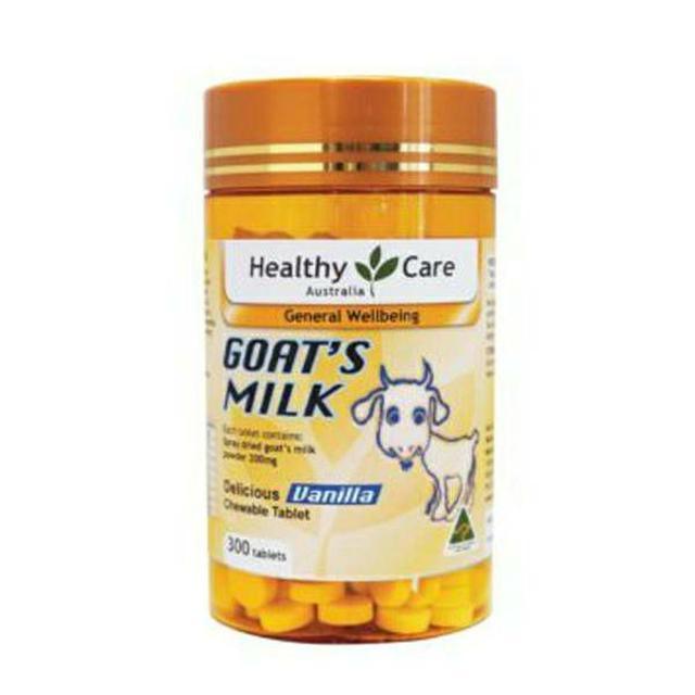 澳洲Healthy Care 澳洲香醇羊乳片 300錠【收單日8/30】