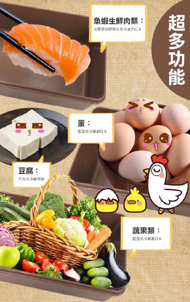 蔬果神鮮寶盒~延長食材壽命