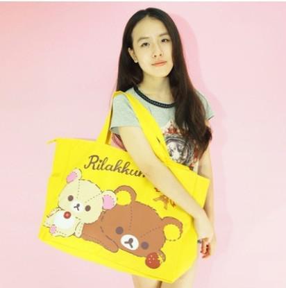 拉拉熊購物袋