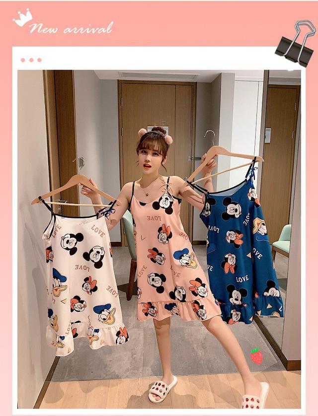 韓版性感睡裙