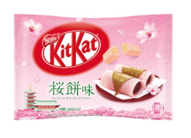日本連線 kitket 櫻花系列餅乾