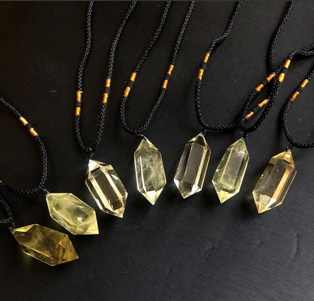 天然能量石-黃水晶(招財)