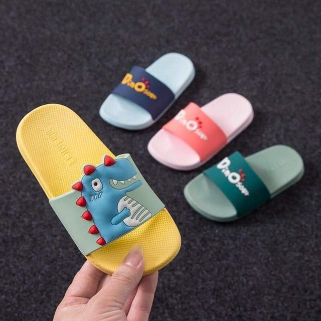 兒童恐龍防滑拖鞋