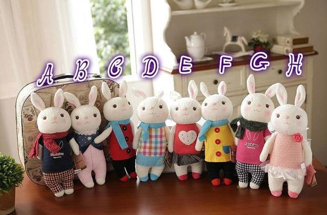 超萌可愛8款小兔子玩偶(只有B/C/F有現貨)