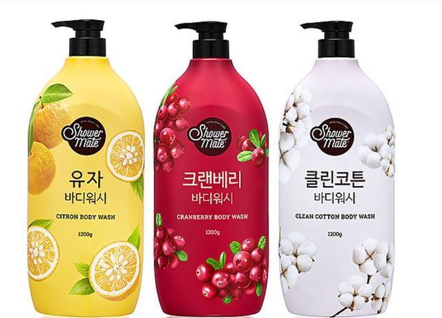 韓國火紅果香沐浴乳1200g(黃金柚/蔓越莓)