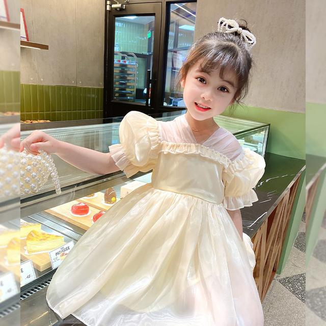 ⚜女童短袖蓬蓬連衣裙