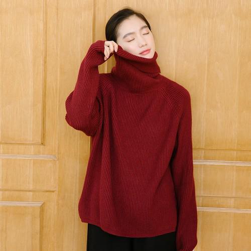 11 不規則開叉針織毛衣