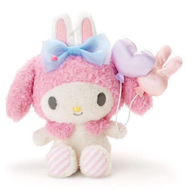 現貨 日本 正品 美樂蒂 娃娃 玩偶 公仔 抱枕