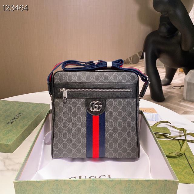 Gucci 原單斜跨包.專櫃同步新款✨意大利產地 皇室品牌 📚非凡享受 男包