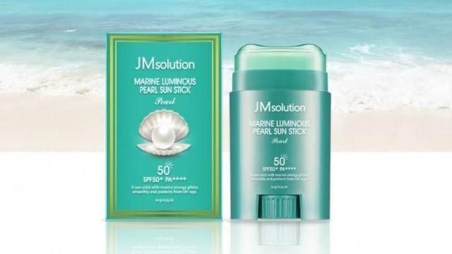 JM solution 海洋珍珠清爽隔離防曬棒 21g