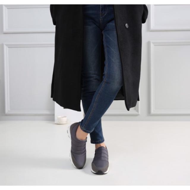 韓國雙絨毛休閒鞋