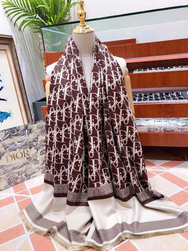 Dior(迪奧)絲巾圍巾極品迪奧
