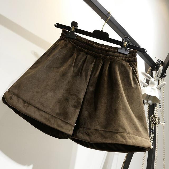 10 XL-5XL 大碼金絲絨闊腿褲 大碼寬鬆靴褲潮 兩色