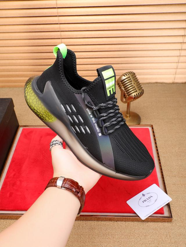 爆单款.🎤普拉达香港专柜休闲鞋,专柜品质
