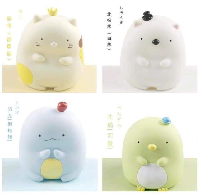 (預購S) 超可愛日本角落生物存錢筒