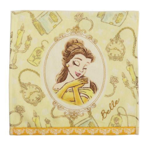 迪士尼公主 美女與野獸 方巾 毛巾