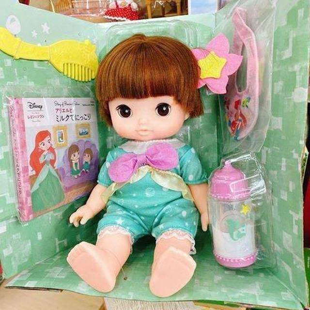 日本迪士尼美人魚寶寶(BANDAI沙奈娃娃)