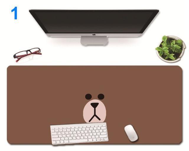 超大加厚/熊大系列滑鼠墊