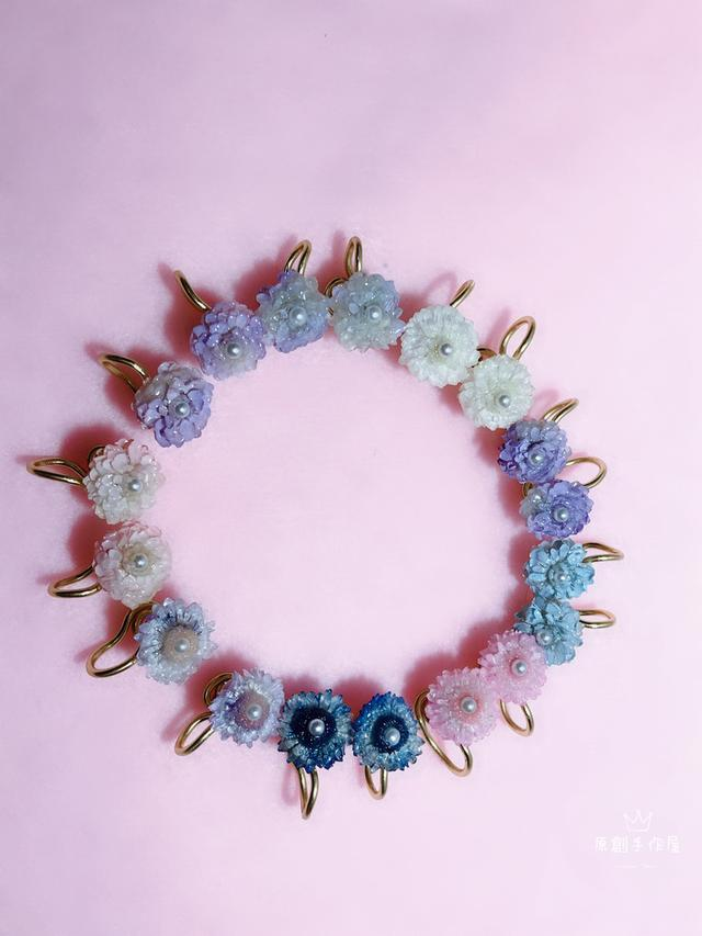 乾燥花系列 蠟菊貼耳式
