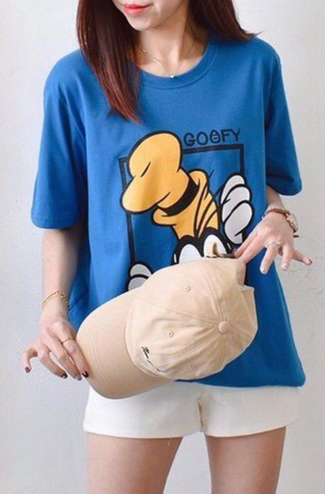 卡通狗狗大學T恤