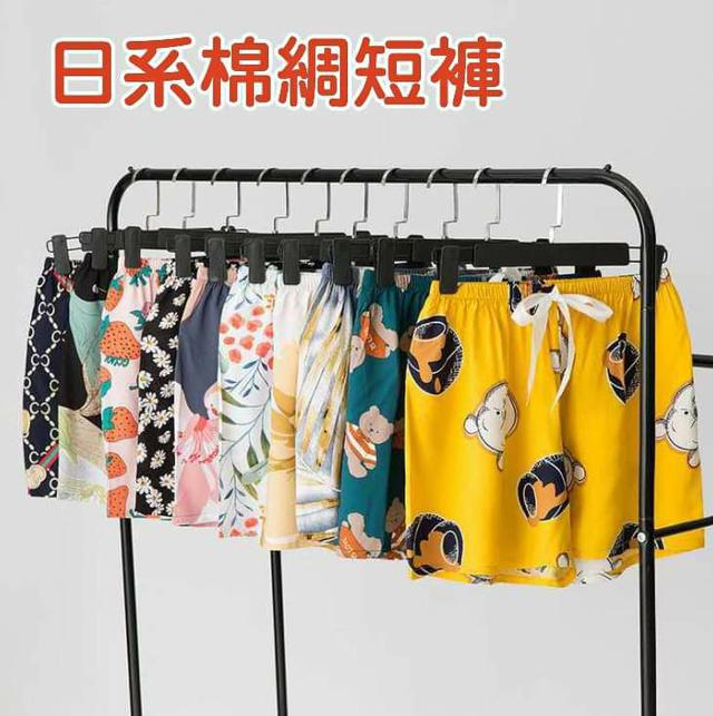 (預購s+) D020-日系棉綢短褲