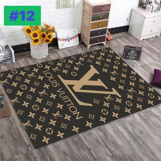 ins潮牌個性黑白北歐地毯客廳簡約現代沙發茶几臥室床邊家用80×120