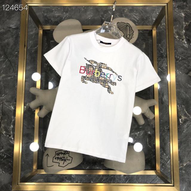 巴寶莉 21ss G網同步男士短袖T恤