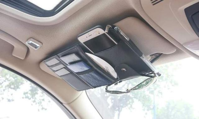 (預購S) 多功能車用遮陽板收納套