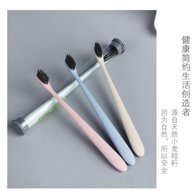 【預購】小麥秸稈牙刷 (一組3隻)