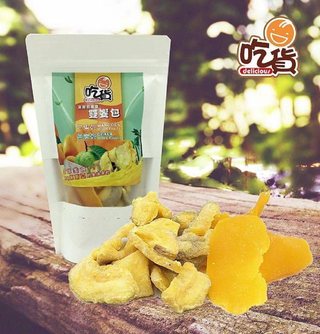 泰國 果乾雙饗包 芒果乾+芭樂乾 110g