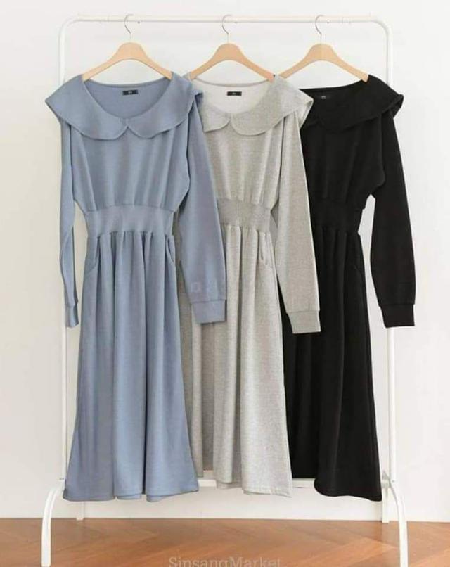 【預購🇰🇷韓國】減齡娃娃領洋裝