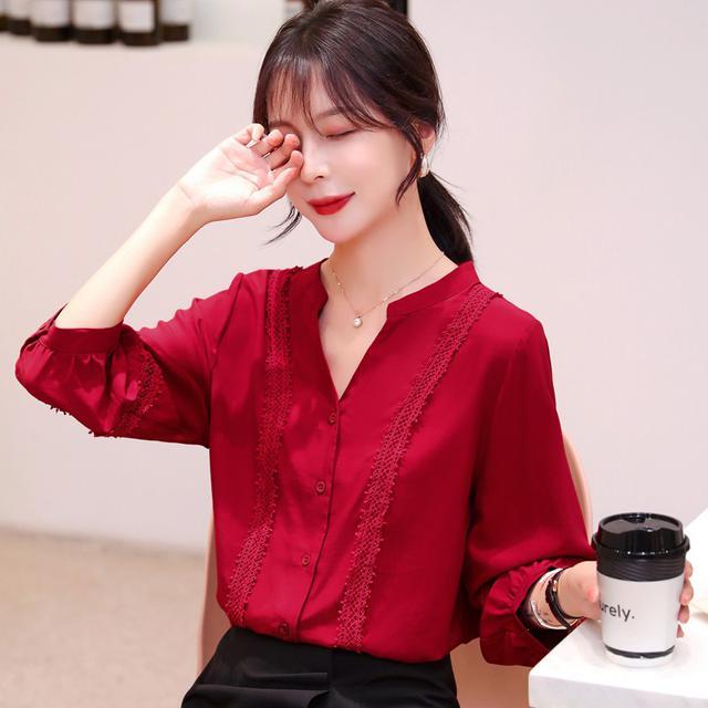11 S-2XL 韓版寬鬆百搭設計襯衣(兩色)